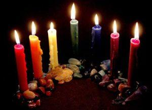 As cores das velas na Umbanda
