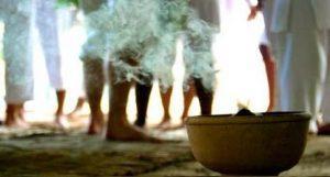 Ritual do Fogo ou Limpeza Astral do Terreiro ou Queimação Fluídica das Larvas