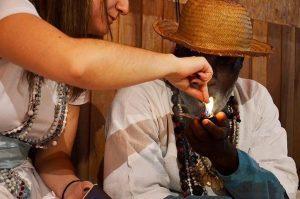 O Fumo e a bebida na Umbanda