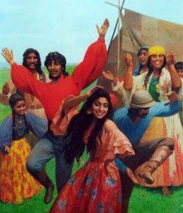 Área de Ação dos Espíritos Ciganos